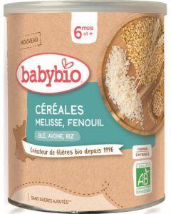 Babybio 3 Céréales Mélisse Fenouil dès 6 mois 220g