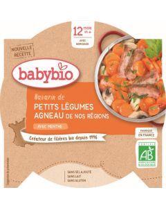 Babybio Navarin de Petits Légumes Agneau de nos Régions à la Menthe dès 12 mois 230g