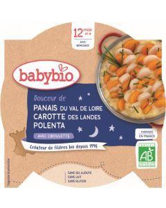 Babybio Panais du Val de Loire Carotte des Landes Polenta avec Ciboulette dès 12 mois 230g