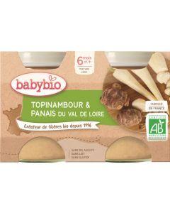 Babybio Topinambour & Panais du Val de Loire dès 6 mois 2x130g