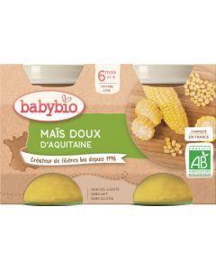 Babybio Maïs Doux d'Aquitaine dès 6 mois 2x130g
