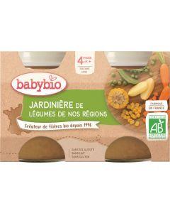 Babybio Jardinière de Légumes de nos Régions dès 4 mois 2x130g