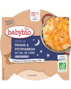 Babybio Gratin de Panais & Potimarron du Val de Loire avec Muscade dès 15 mois 260g