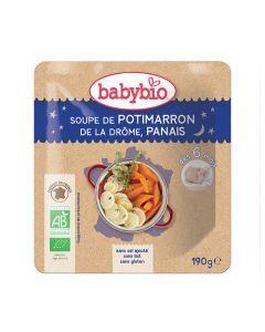 Babybio Sachet Soupe de Potimarron & Panais Biologique dès 6 Mois 190g