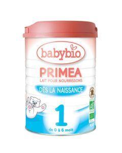 Babybio Primea 1 Lait pour Nourrissons Bio de 0 à 6 Mois 900g