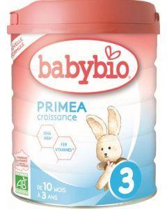 Babybio Primea 3 Croissance de 10 mois à 3 ans 800g