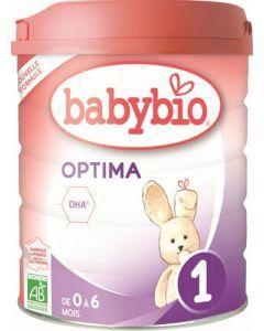 Babybio Optima 1 de 0 à 6 mois 800g