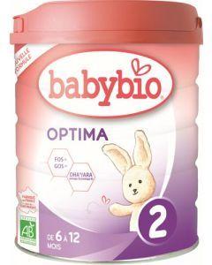Babybio Optima 2 de 6 à 12 mois 800g