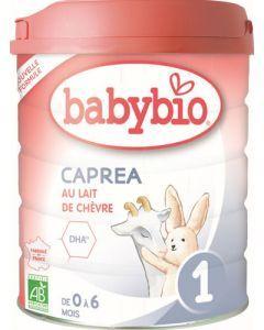 Babybio Caprea 1 au Lait de Chèvre de 0 à 6 mois 800g