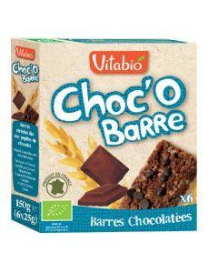 Vitabio Choc'O Barre de Céréales Bio 6x25g