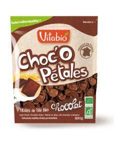 Vitabio Choc'O Pétales de Blé au Chocolat Bio 450g