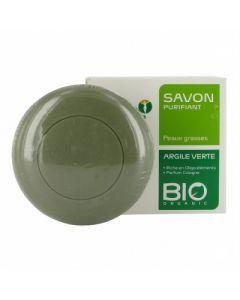 Argiletz Savon Argile Verte Parfum Cologne Bio 100g