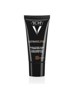 Vichy Dermablend Fond de Teint Fluide Correcteur Teinte 75 Espresso 30ml