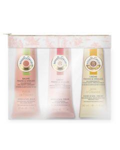Roger & Gallet Trousse Crèmes Mains Fleur de Figuier, Rose, Bois d'Orange 3 Tubes 30ml