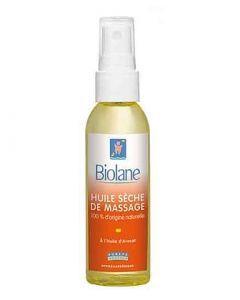 Biolane Huile Sèche de Massage Spray 75ml