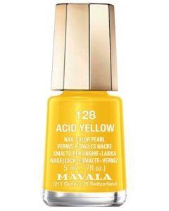 Mavala Mini Vernis 128 Acid Yellow 5ml