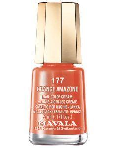 Mavala Mini Vernis à Ongles 177 Orange Amazone 5ml