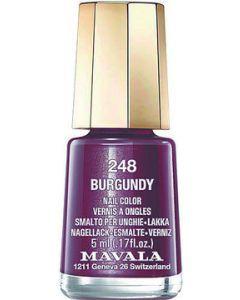Mavala Mini Vernis 248 Burgundy 5ml
