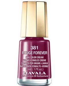 Mavala Mini Vernis 381 Rouge Forever 5ml