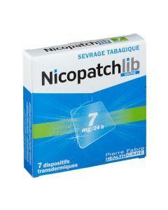 Nicopatchlib Nicotine 7mg/24h 7 dispositifs transdermiques