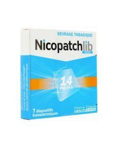Nicopatchlib Nicotine 14mg/24h 7 dispositifs transdermiques