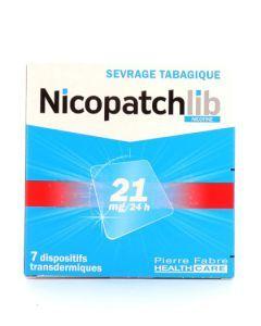 Nicopatchlib Nicotine 21mg/24h 7 dispositifs transdermiques