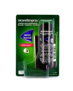 Nicorettespray Spray Buccal Fruits Rouges Nicotine 1mg/dose 150 pulvérisations