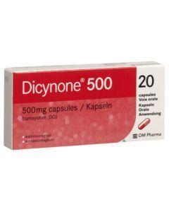 Dicynone 500mg 20 comprimés
