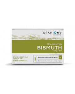 Granions De Bismuth 2Mg/2Ml 10 Ampoules