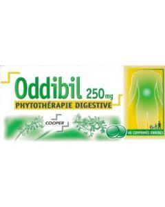 ODDIBIL 250mg comprimé enrobé