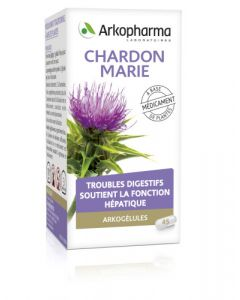 Arkopharma Arkogélules Chardon Marie 45 gélules