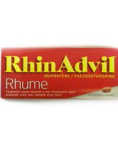 RHINADVIL RHUME IBUPROFENE/PSEUDOEPHEDRINE comprimé enrobé