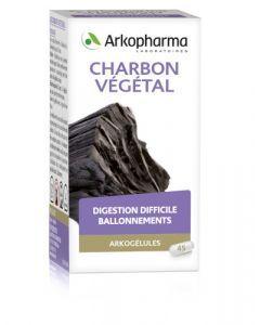 Arkopharma Arkogélules Charbon Végétal 45 gélules
