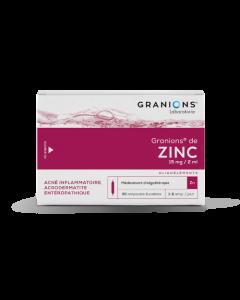 Granions De Zinc 15Mg/2Ml 30 Ampoules