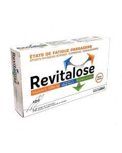 Revitalose sans sucre 14 doses de 2 ampoules solution buvable édulcorée au sorbitol
