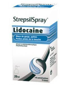 STREPSILSPRAY à la lidocaïne collutoire