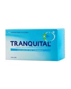 Tranquital Extraits secs aubépine valériane comprimés enrobés