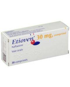 Etioven 30 mg Naftazone 30 comprimés