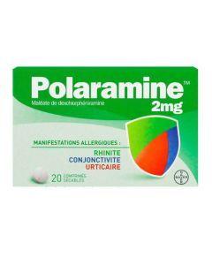Polaramine 2mg 20 comprimés sécables