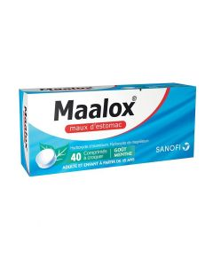 MAALOX MAUX D'ESTOMAC comprimé à croquer