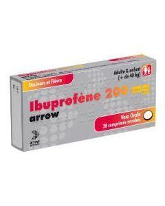 Ibuprofène Arrow 200mg comprimé enrobé