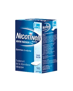 NICOTINELL 2MG MENTHE FRAICHE gomme à mâcher