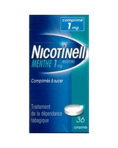 NICOTINELL MENTHE 1mg comprimé à sucer