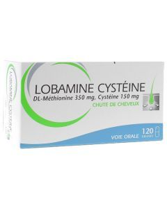 Lobamine Cystéine 120 gélules