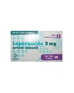 LOPERAMIDE ARROW CONSEIL 2mg gélule