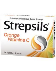 STREPSILS ORANGE VITAMINE C pastille