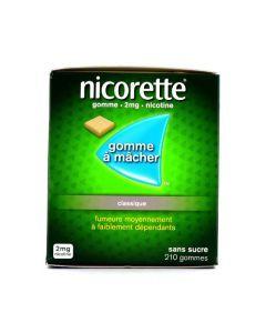 Nicorette 2mg Sans Sucre 210 Gommes