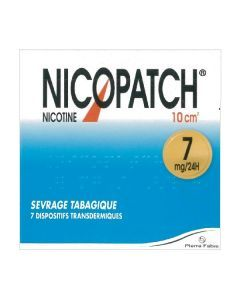 NICOPATCH 7mg/24h dispositif transdermique