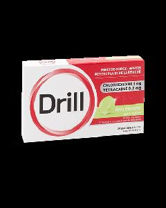 Drill sans sucre Anis Mente 24 pastilles à sucer