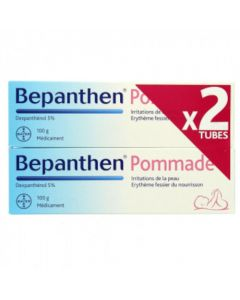 Bepanthen 5 % Pommade 100g Lot de 2
